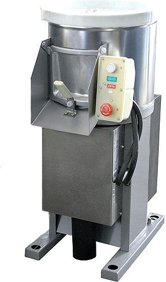 Принцип работы картофелечистки